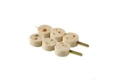 Brochettes de Boudins Blancs Figues et Piments d'Espelette